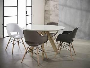 Ikea Runder Tisch : milian esstisch rund 120 cm eiche weiss ~ Yasmunasinghe.com Haus und Dekorationen