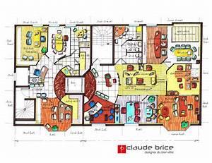 plan feng shui maison superposez du bagua votre plan With construire une maison feng shui