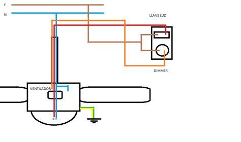 solucionado instalacion de ventilador de techo con luz