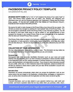 privacy policy templates examples website mobile With privacy policy template for apps