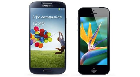 iphone or galaxy samsung galaxy s4 vs iphone 5 which phone should you buy