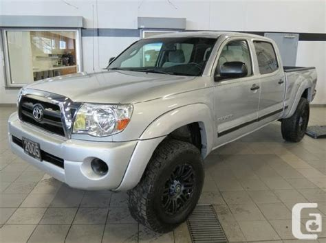 2005 Toyota Tacoma For Sale by 2005 Toyota Tacoma V6 For Sale In Kelowna