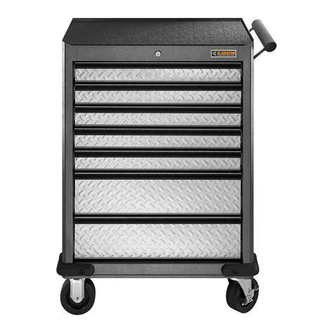 7 drawer rolling tool cabinet gladiator premier series 27 in w 7 drawer rolling tool