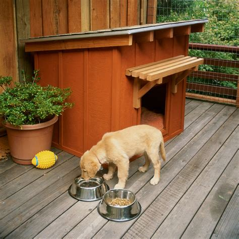 build  mini ranch house   pooch sunset magazine