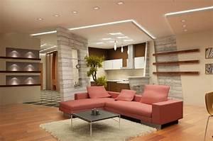 Contemporary False Ceiling Designs Living Room