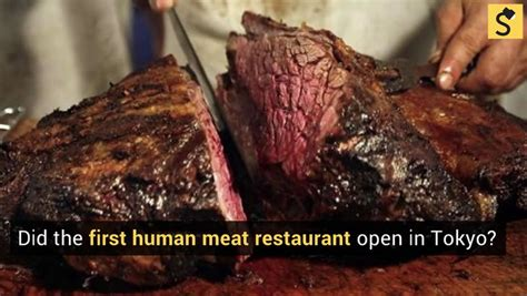 foto de FACT CHECK: Did Tokyo Open the First Human Meat Restaurant?