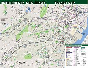 Freeholder Board Unveils New Union County Transit Map ...