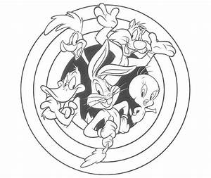 looney tunes printable coloring pages - looney tunes character coloring sheet printable