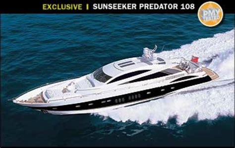 sunseeker predator  power motoryacht