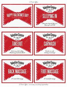 valentine39s day coupon book for husband or wife bowtie With coupon book template for husband