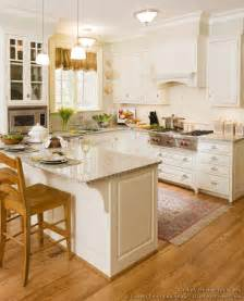 peninsula kitchen ideas pictures of kitchens traditional white kitchen cabinets page 5