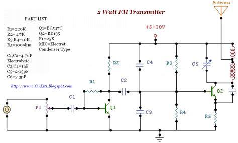 Watt Transmitter Everyday Electronics