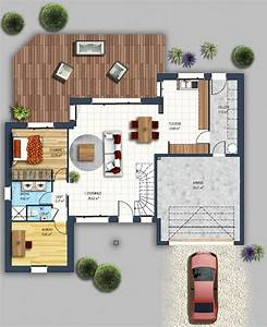 les 25 meilleures idees de la categorie plans With photo de plan de maison 5 maison traditionnelle construite par guemas constructeur