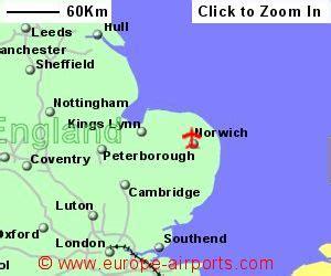 Norwich Street Map