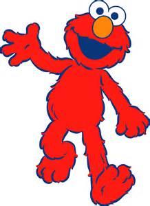 Sesame Street Elmo Clip Art
