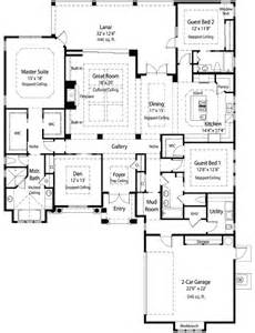 great room house plans one story plan w33062zr energy smart single story e architectural