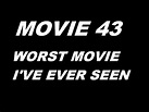 Movie 43 REVIEW (WORST MOVIE I'VE EVER SEEN) - YouTube