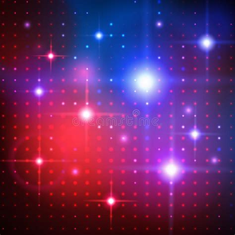 disco lights vector background stock vector