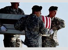 Remains Of TwoStar General Killed In Afghanistan Returned