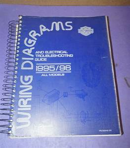 1995 1996 Harley Davidson Wiring Diagram  U0026 Electrical
