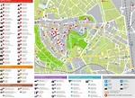 Olomouc tourist map