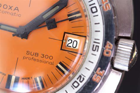 Doxa Dive Historical Perspective The Doxa Sub 300 The Dive
