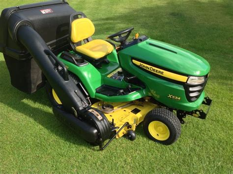 deere x534 garden tractor bertie green