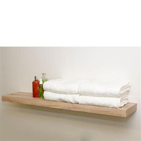 wood shelf brackets floating wood shelf oak floating shelf kit 1150x250x50mm mastershelf