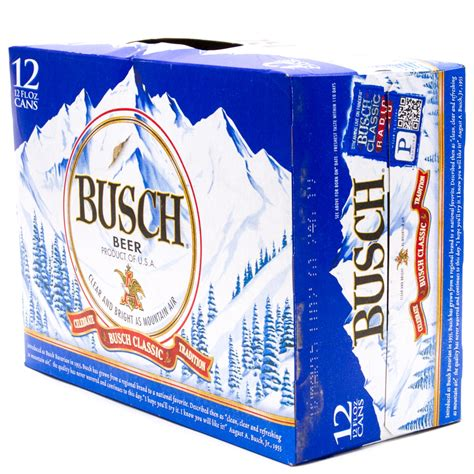 12 pack busch light busch beer 12oz can 12 pack beer wine and liquor