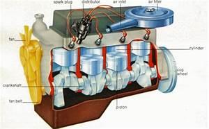 Disel Engine Diagram
