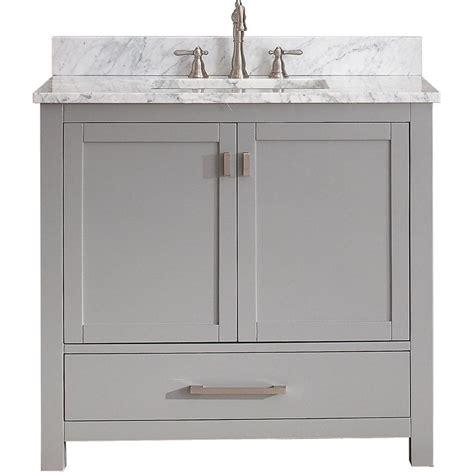 avanity modero grey vanity combo overstock shopping