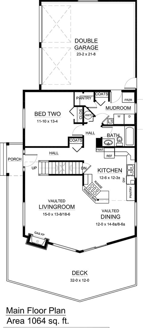 House Plan 99943 Contemporary Style with 1561 Sq Ft 2