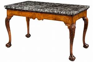 antique marble top tables lovetoknow With antique marble top coffee table value