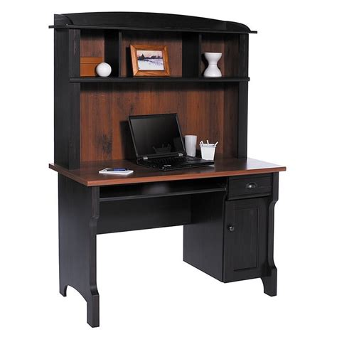 used computer desk with hutch christopher lowell shore mini solutions computer desk with