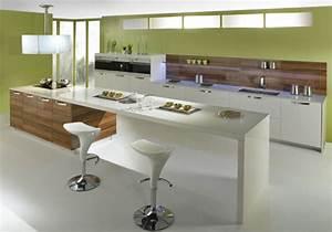 Tendances cuisines la mode francaise inspiration for Table de salle a manger modulable pour petite cuisine Équipée