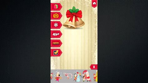 merry christmas card maker free greetings card ios app demo buy source code youtube
