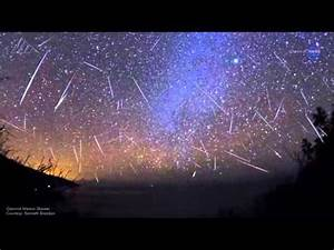 NASA says watch for shooting stars tonight - NASA Video ...