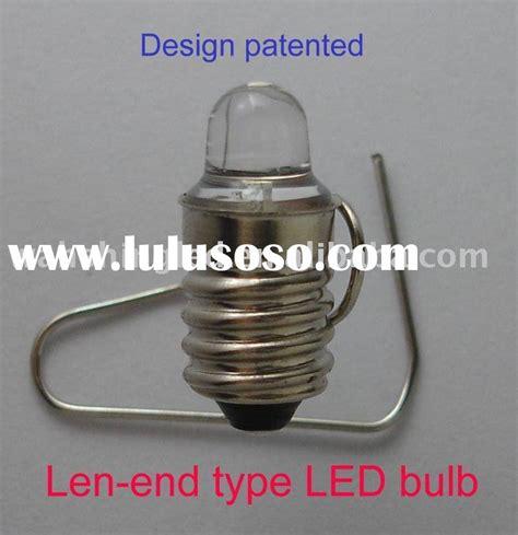 white led len end type e10 base flashlight bulb
