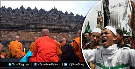 indonesia muslim mob attacks buddhist temples