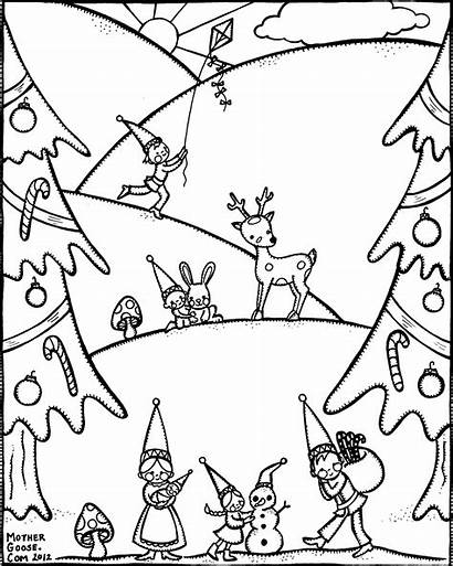 Coloring Winter Pages Adults Printable Redneck Detailed