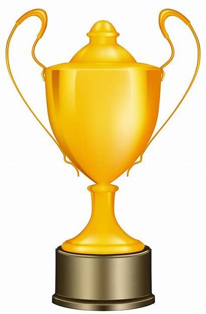 Trophy Clipart Race Transparent Cup Gold Royalty