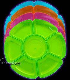 Assorted Neon Blacklight Reactive 10 Ounce Party Cups 50