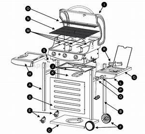 Charcoal Grill Parts Diagram  U2022 Downloaddescargar Com