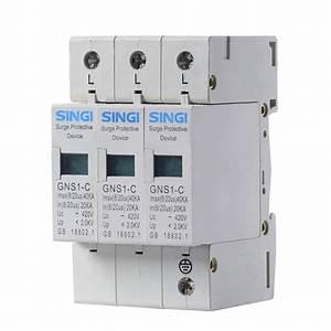 Iec Standards Lightning Surge Protector Spd   Transient Voltage Surge Suppressor Tvss