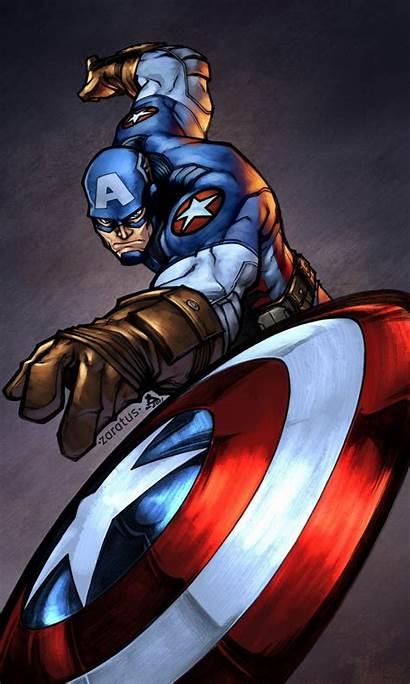 Captain America Iphone Wallpapers Marvel Avengers Comics