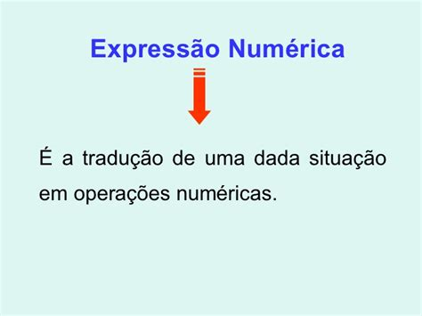 expressoes numericas