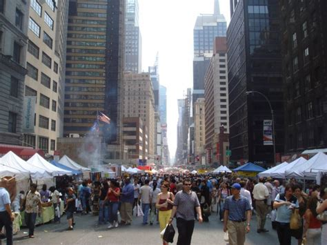 Nyc Tests Revamping The Street Fair  Next City