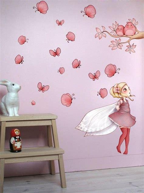 chambre fee sticker mural fée pour chambre de fille fabriqué en