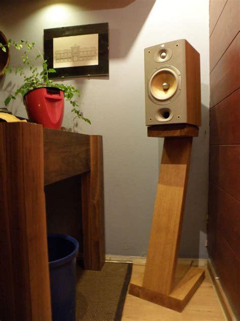 speaker stands  tag  lumberjockscom woodworking