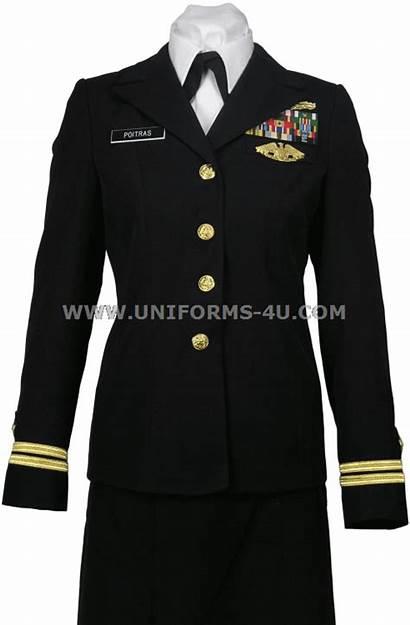 Service Navy Officer Female Uniform Coat Cpo